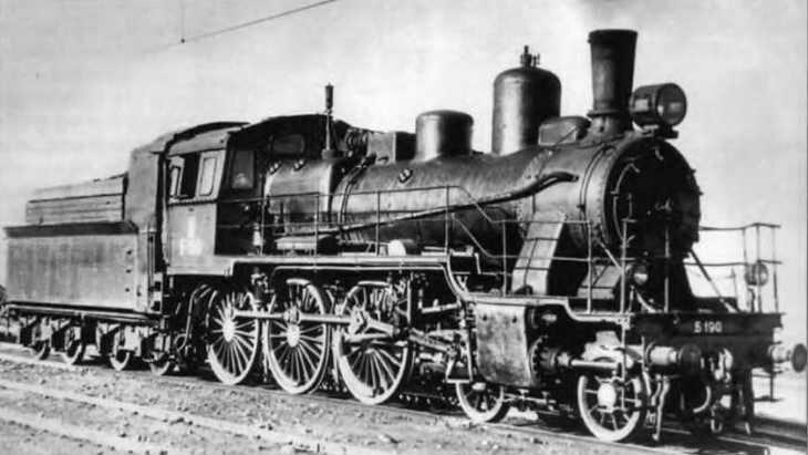 Б серия (2-3-0) - пассажирский паровоз