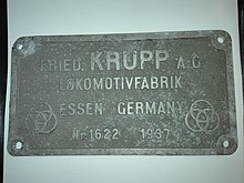 220px 19D 2510 (Builders Plate)