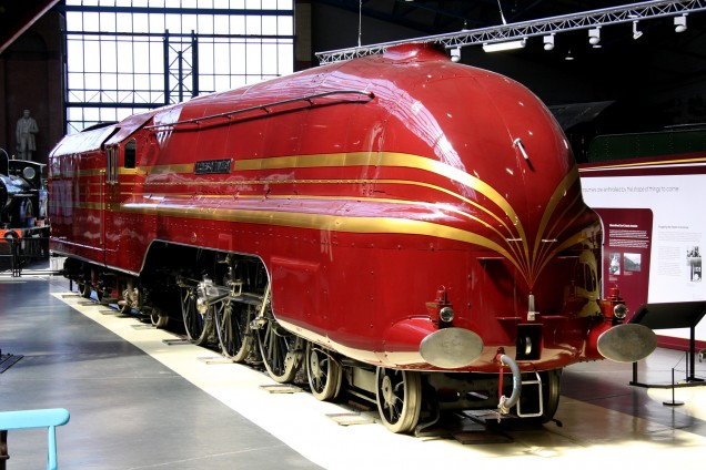 6229 DUCHESS OF HAMILTON National Railway Museum (5)